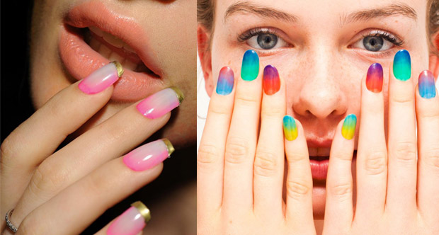 Cute ombre nail designs