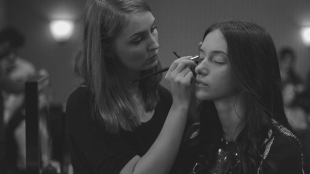Luiza Burhai - backstage make-up