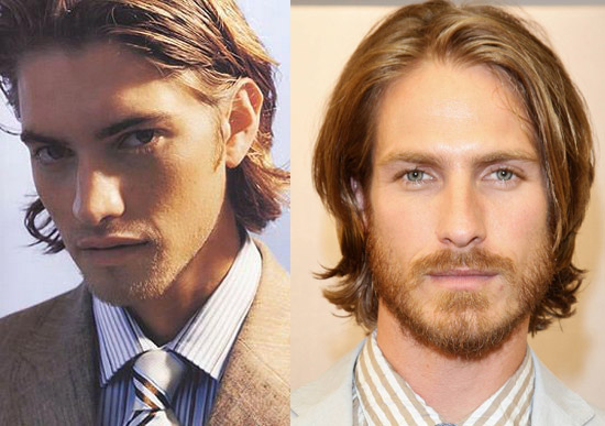 Office Long Hairstyles for men