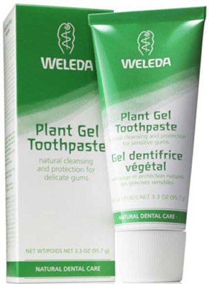 Weleda toothpaste range review for Protection plante gel