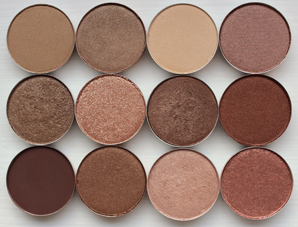 Natural Eye Shadow options for a business makeup