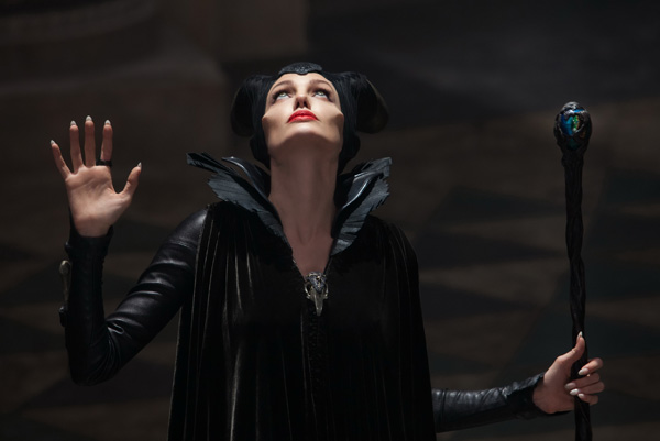 Maleficent Cheekbones