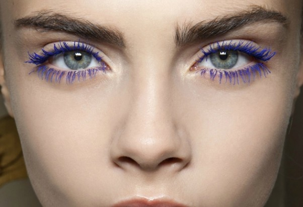 Colored Mascara – best pink, green, blue mascara for ...  |Women Black And Blue Mascara