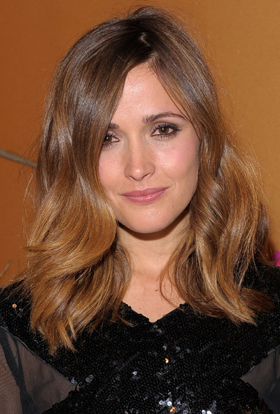 Balayage highlights for brunette blonde caramel and red hair rose byrne balayage solutioingenieria Image collections