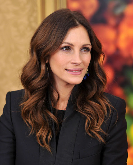 Red Balayage Julia Roberts