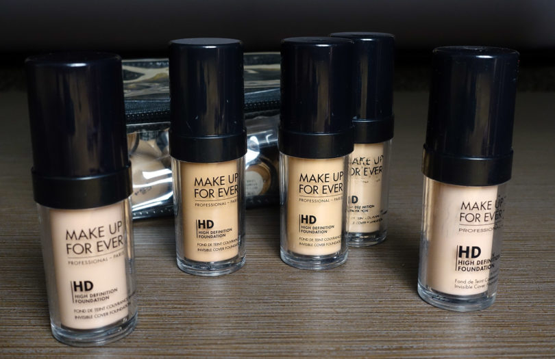 Makeup Forever HD Foundations