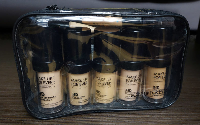 Makeup Forever HD Foundations in Case